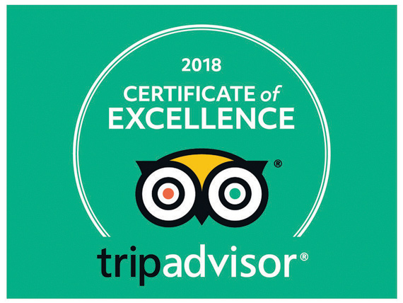 CERTIFICADO DE EXCELENCIA TripAdvisor PARA THE HUNTER'S DREAM SAFARI
