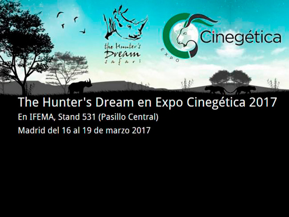 The Hunter's Dream estará en Cinegetica, Madrid del 16 al 19 de Marzo de 2017