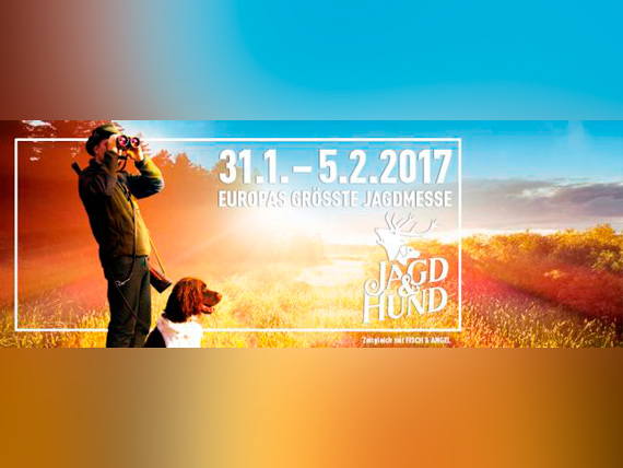 The Hunter's Dream estará en Jagd und Hund, Dortmund del 31 de Enero al 5 de Febrero de 2017